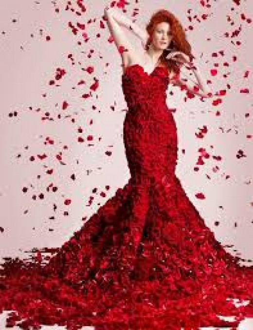 Buy yourself a red dress for Valentines