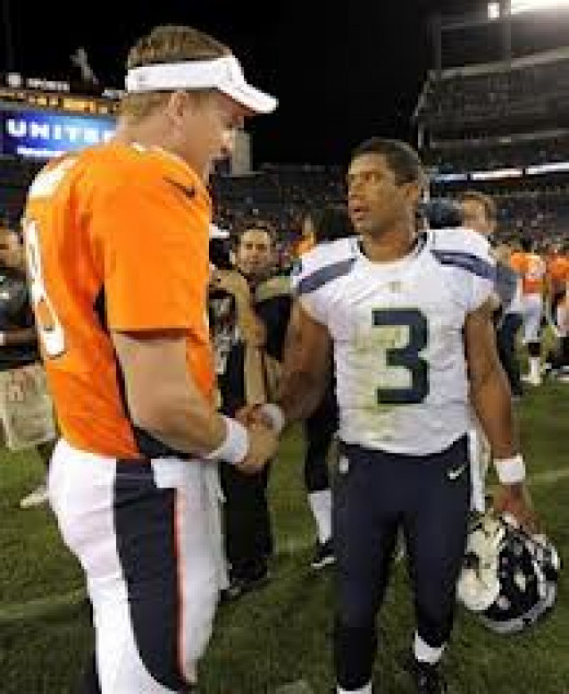 Russell Wilson doesn't exceed because of his height