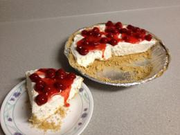 Cherry Cheese-Cake Pie