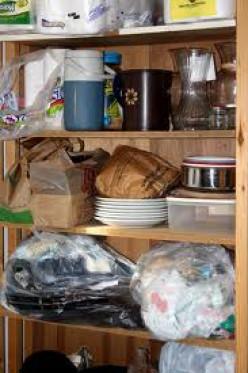 Easy Storage Solutions for Open Shelves
