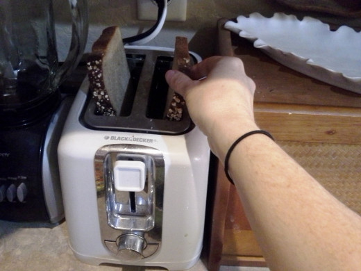 Step Four: Toast your bread