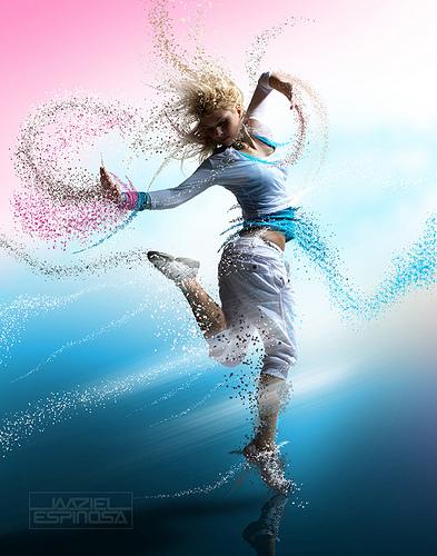 Dance girl from J E flickr.com
