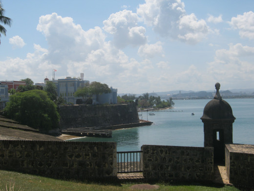 Looking upon San Juan Bay