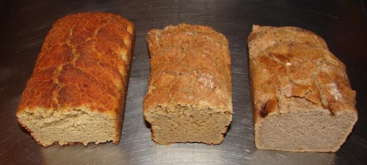 Bread made with teff, quinoa and other natural, semi-domesticated grains