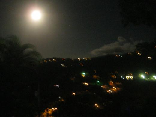 Puerto Rico moon