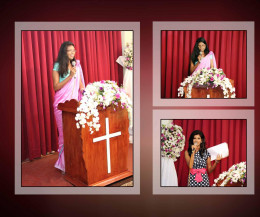 Giving the speeches :)