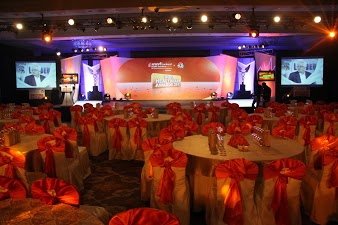 Everything in place for a glittering ceremony to honour truly glittering examples of service.