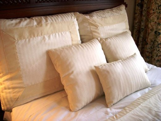 You will need those pillows for your bed.