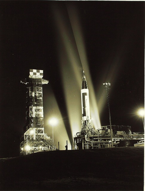 A night launch at the Cape.