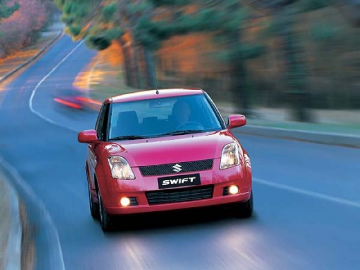 Maruti Swift On road