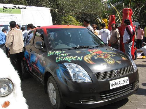 Modified Maruti Swift - Beast of Burden