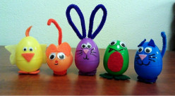Easy Easter Critter Craft Project for Kids