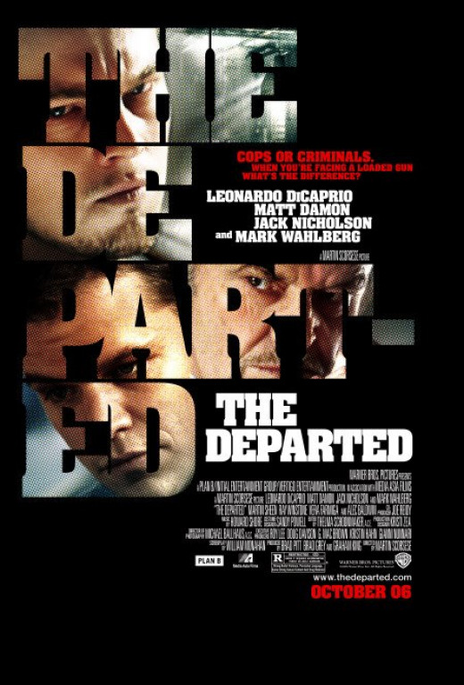 The Departed poster.