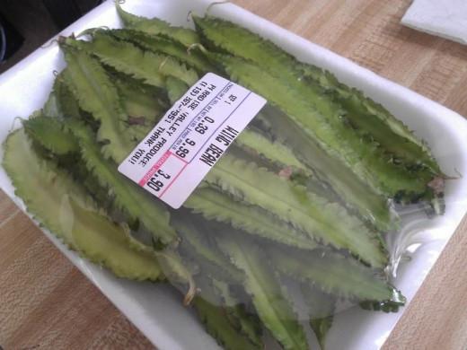 Winged bean (psophocarpus tetragonolobus)