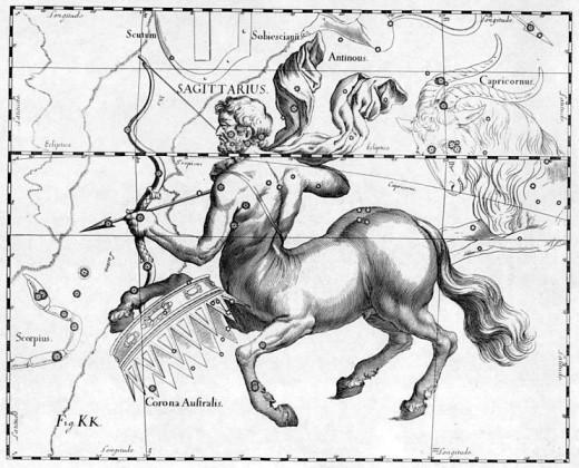 Sagittarius by Johannes Hevelius