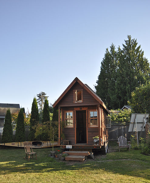 Tiny home in Portland, Oregon
