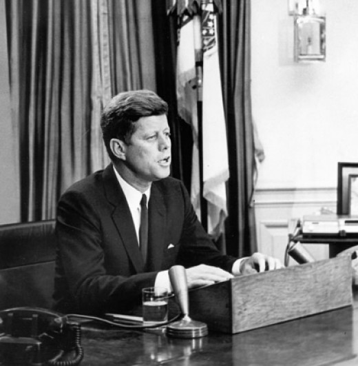 Kennedy Addresses the Nation