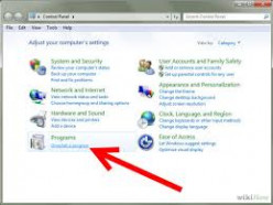 How to Uninstall A Program on Windows 7
