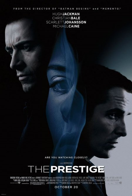 The Prestige movie poster.