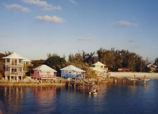 Rental Villas on Staniel Cay. Each with a private dock and boat.