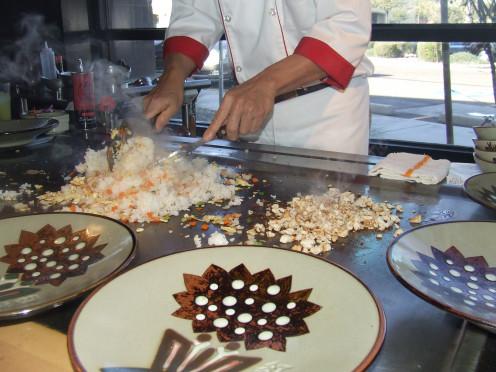 The Chef At Benihana
