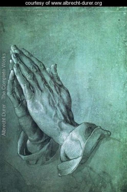 Hands, Albrecht Durer (1471-1528)