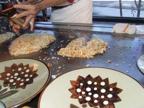 Chef Chu Seasons The Heart  With Salt & Pepper.