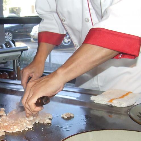 Chef Chu Cooks Chicken Thoroughly.