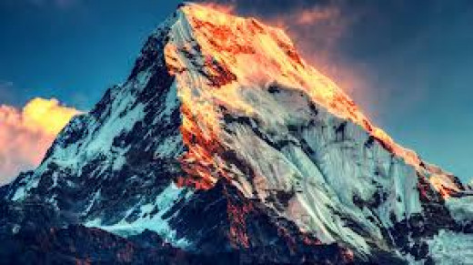 Mt Everest, Nepal - China.