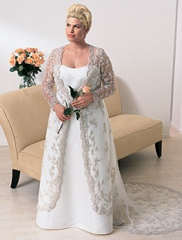 Plus Size Wedding Dresses For The Older Bride - Overlay Wedding ...