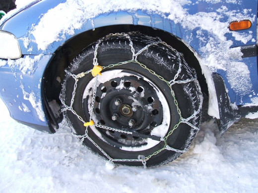 Put on Snow Chains