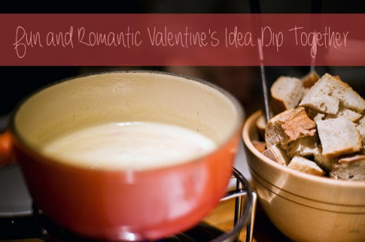 Fondue is a fun activity that you can do with your partner, and the possibilities are endless! See below to the right for the different bases and things to dip into your fondue!