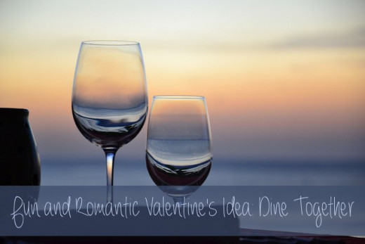 Valentine's Day is known as a day to take your sweetheart out for dinner, so why not do something special this year? Try something you've never done before!
