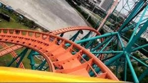 The Texas Titan roller coaster is located at Six Flags over Texas.