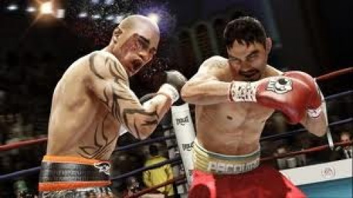 Fight Night Round 3 has improved graphics and gameplay. It features real life boxers from eight weight divisions including Manny Pacquiao and Oscar De La Hoya.