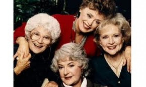 The Golden Girls show is hilarious and it was very popular in the 1980's and the 1990's.