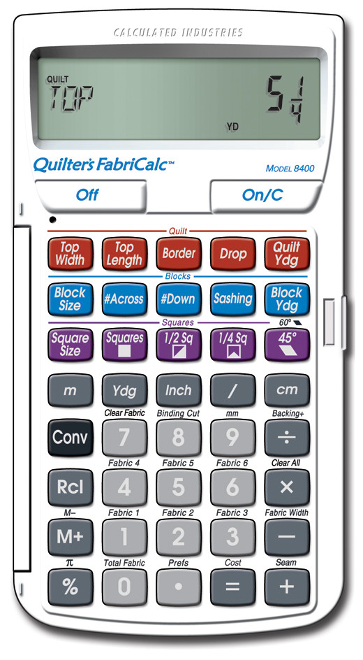 Quilter's FabriCalc by Calculated Industries