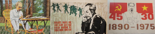 The iconography of Ho Chi Minh - no laughing matter