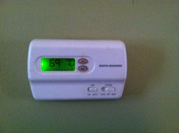 Check the thermostat outside first...