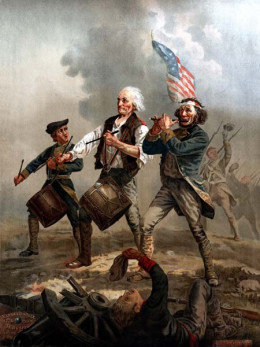 Yankee Doodle by Willard. Did you sing the song Yankee Doodle in school? It is itself new words to an older song. Can you think of new, modern lyrics?