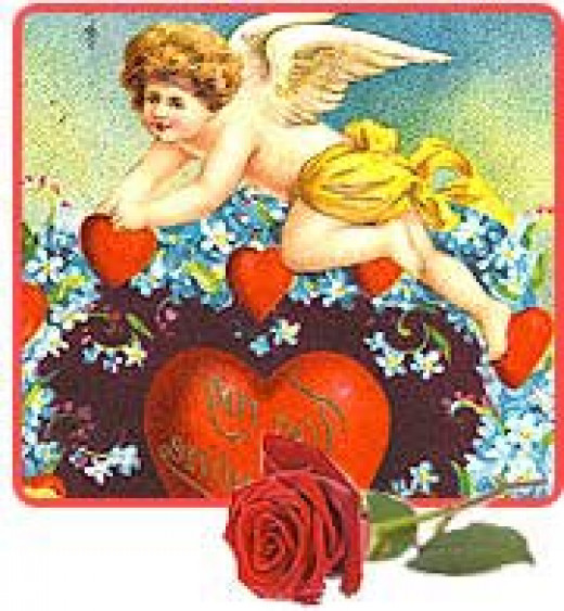 Cupid with Thoughts of Love