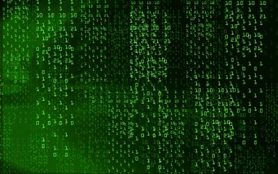 Digital Number Background