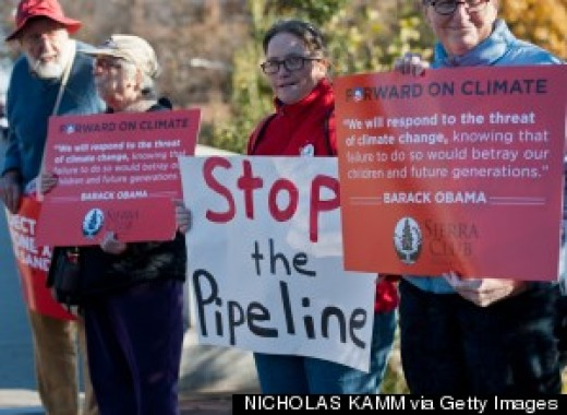 Supporters of Keystone Pipeline