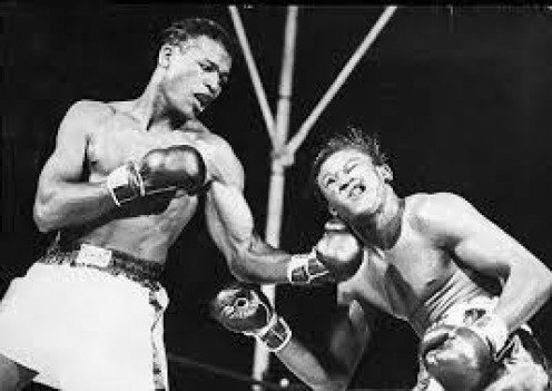 Sugar Ray Robinson was an offensive genius in the squared circle and his powerful uppercut was no exception.
