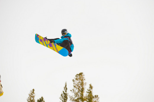 Kelly Clark - Grand Prix 2010 - Mammoth Mountain