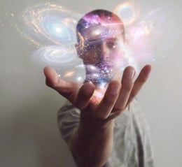 Universe in my hands from Lauro Roger McAllister flickr.com