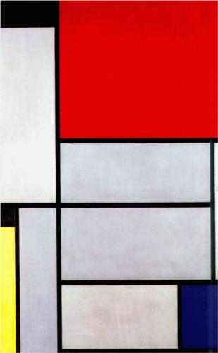 Piet Mondrian, Modert art, Abstract art