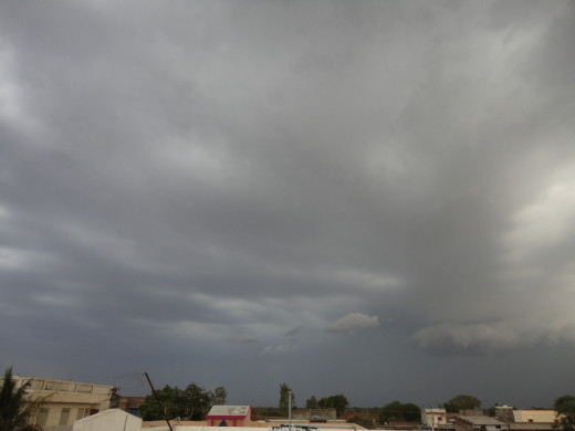 During monsoon