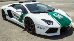 Lamborghini, McLaren, and Aston Martin Police Cars In Dubai.