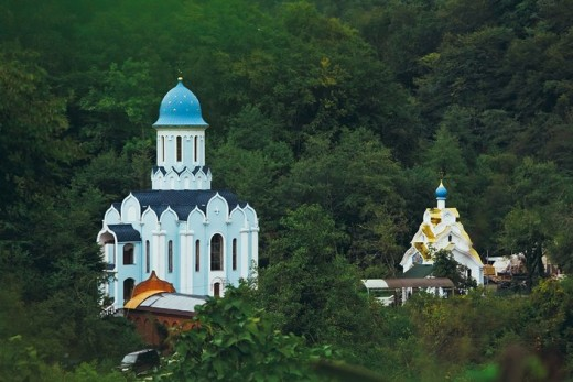 Saint George and Trinity women monastery in Sochi